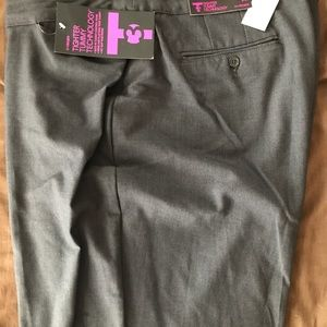 Dark gray dress slacks size 22